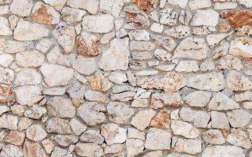 камни, текстура, стена, кирпич