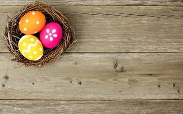 spring, easter, eggs, holiday, socket, the painted eggs