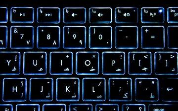 клавиатура, технология, значок, электроника