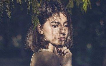 глаза, свет, девушка, портрет, тень, модель, волосы, лицо, mito51