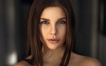 глаза, девушка, портрет, взгляд, модель, волосы, фотограф, лицо, мелани, мартин кюн