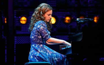 girl, look, hair, face, actress, singer, pianist, jessica mueller, jessie mueller