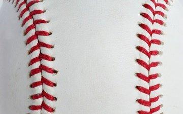текстура, кожа, мяч, бейсбол, шнуровка
