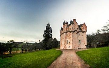 замок, шотландия, соединенное королевство, craigievar castle, замок крэгивар