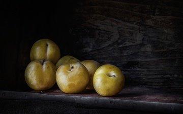 макро, фрукты, ягоды, сливы, слива