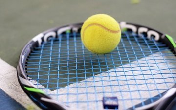 sport, the ball, tennis, racket