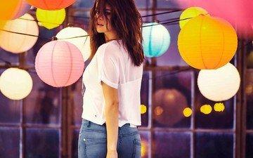 lanterns, photoshoot, adidas, selena gomez, neo
