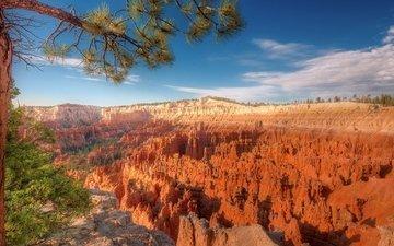 скалы, каньон, сша, юта, брайс-каньон, брайс каньон национальный парк