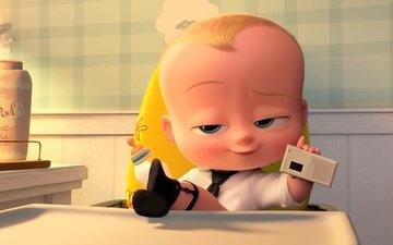baby, boss, the boss is a sucker, the boss baby, alec baldwin, official wallpaper, animated film, animated movie, the baby boos
