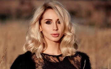 girl, background, blonde, look, hair, singer, svetlana loboda, loboda