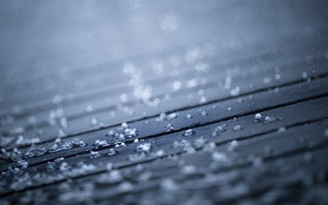 water, tree, texture, drops, board, rain, wooden surface