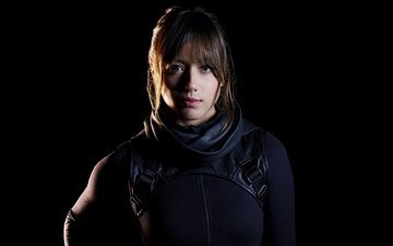 "brunette, actress, the series, agents of shield, chloe bennet, daisy johnson, agents ""sch.and.t."", skye, agents of s.h.i.e.l.d."