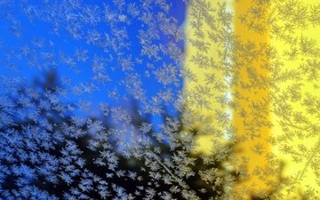 background, pattern, frost, glass, surface