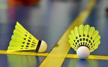 strip, macro, sport, badminton, flounce, shuttlecocks
