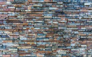 текстура, стена, камень, кирпич, кирпичная, кладка, шаблон