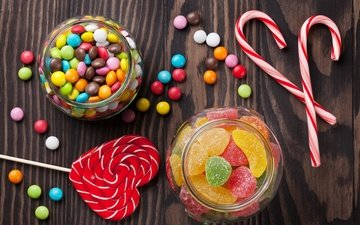 конфеты, сладости, сладкое, леденцы, мармелад, драже