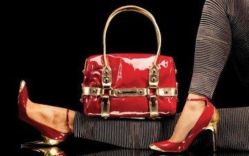 стиль, ноги, каблуки, туфли, мода, сумка