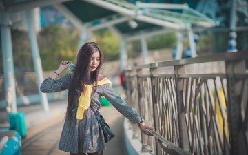 style, girl, mood, dress, summer, look, face, walk, asian