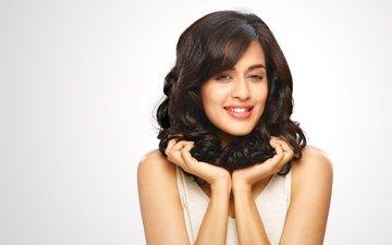 глаза, девушка, брюнетка, модель, губы, лицо, милая, макияж, индийская