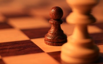 chess, board, the game, figure, pawn
