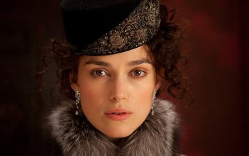 the film, actress, keira knightley, anna karenina