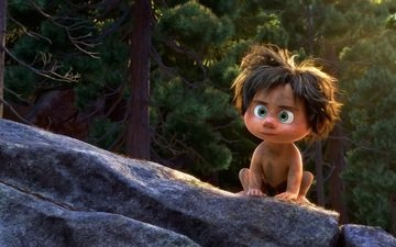 people, cartoon, child, boy, the good dinosaur, primitive