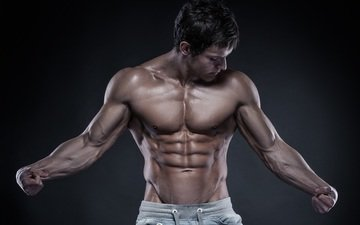 male, figure, muscles, muscle