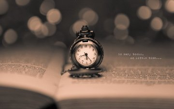 the inscription, watch, time, book, page