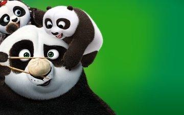 панда, кино, палочки, пельмешка, кунг-фу панда 3