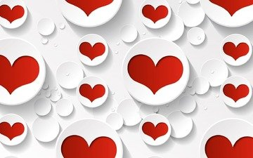 heart, graphics, love, valentine's day, 3d
