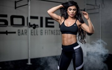 style, girl, hair, face, figure, fitness, sports