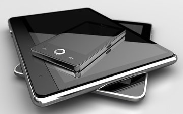 black and white, phone, tablet, gadgets, mobile, grey