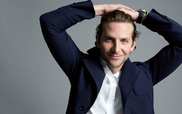 smile, actor, watch, male, shirt, bradley cooper