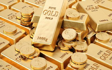 metal, gold, coins, bars, sample
