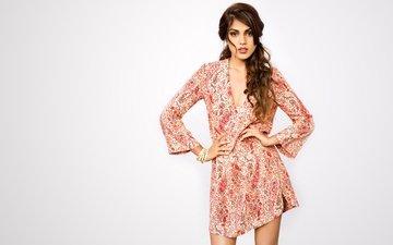 girl, pose, brunette, model, hair, actress, figure, indian, rhea chakraborty, ri chakraborty