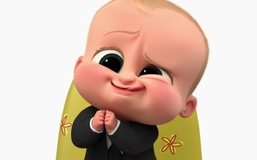 мультфильм, ребенок, костюм, галстук, босс, the boos baby