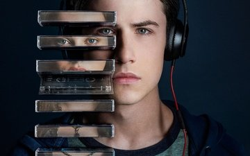 katherine langford, netflix, 13 reasons why, dylan minnette, tv seies, clay jensen, дилан миннетт