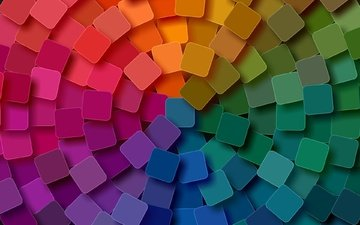 abstraction, background, color, graphics, squares, geometry, 3d