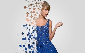 девушка, платье, блондинка, певица, тейлор свифт, знаменитость