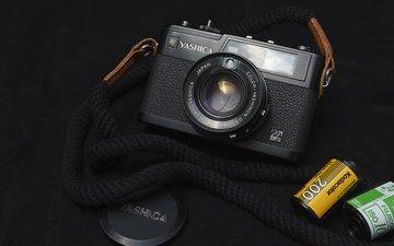 фотоаппарат, объектив, пленки