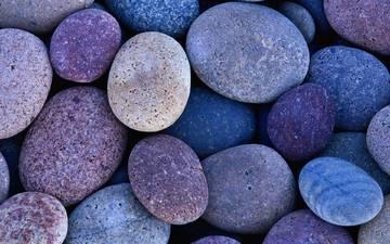 stones, pebbles, texture, background, sea, color