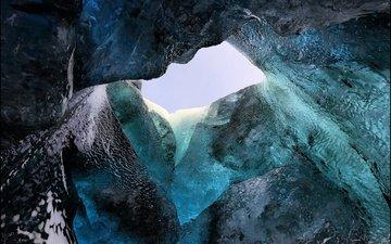 лёд, исландия, ледник