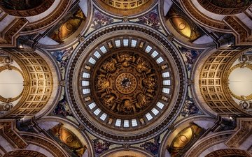 london, england, architecture, religion, st. paul's cathedral