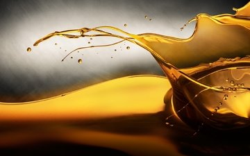 фон, капля, цвет, брызги, масло, всплеск, жидкость