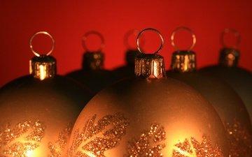 новый год, шарики, шар, игрушки, рождество, украшение