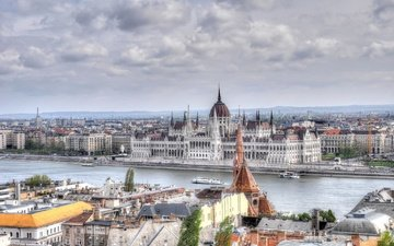 river, panorama, home, hungary, budapest, parliament