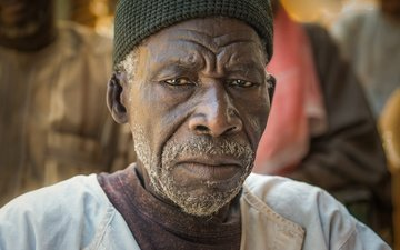 look, face, male, bristles, black, african portrait