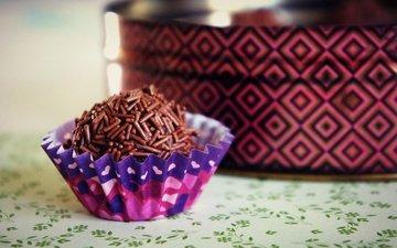шоколад, сладкое, конфета, трюфели