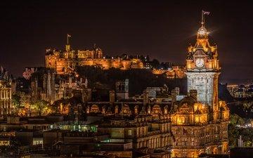 шотландия, эдинбург, эдинбургский замок, бальморальный отель