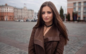 девушка, взгляд, волосы, лицо, dmitry sn, вероника